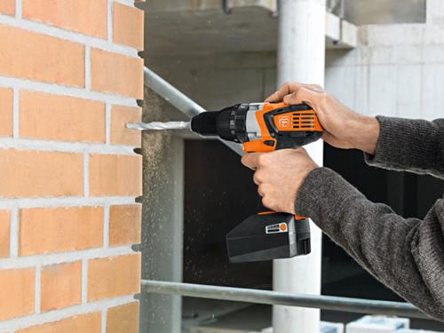 2-speed cordless hammer drill/driver Fein ASB 18