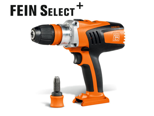 4-speed cordless drill/driver  Fein ASCM 18 QX select