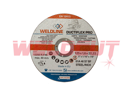 Cutting disc Ductiflex Pro Inox 125mm x 1.6mm