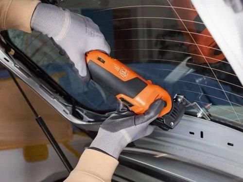 Profesjonalny zestaw Fein SuperCut FSC 1.7 Q dla szklarzy samochodowych