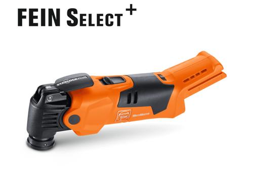 Fein MultiMaster Select- Аккумуляторный осциллирующий инструмент